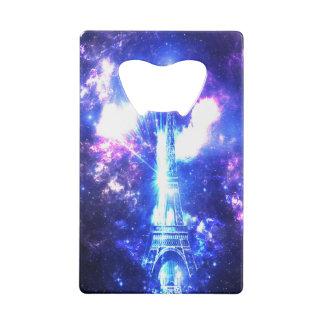 Iridescent Parisian Sky Wallet Bottle Opener
