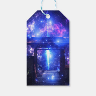 Iridescent Pathway to Anywhere Gift Tags