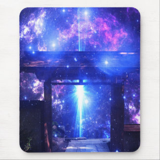 Iridescent Pathway to Anywhere Mouse Pad