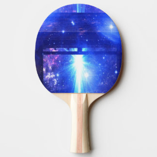 Iridescent Pathway to Anywhere Ping Pong Paddle