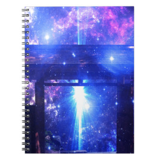 Iridescent Pathway to Anywhere Spiral Notebook