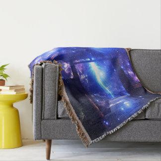 Iridescent Pathway to Anywhere Throw Blanket