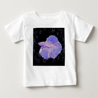 Iridescent Purple Fighting Fish Baby T-Shirt