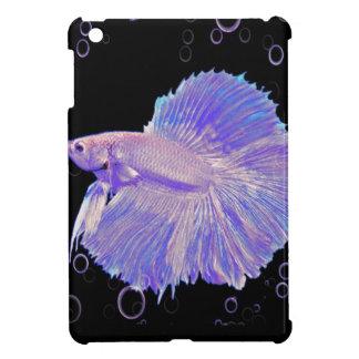 Iridescent Purple Fighting Fish iPad Mini Case