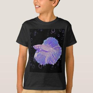Iridescent Purple Fighting Fish T-Shirt