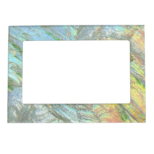 Iridescent Shell colours Magnetic Frame
