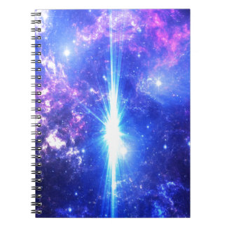 Iridescent Skies Notebook