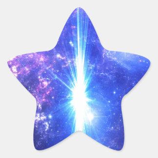 Iridescent Skies Star Sticker