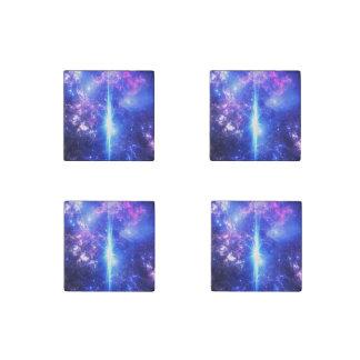 Iridescent Skies Stone Magnets