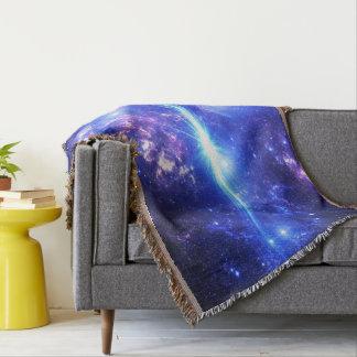 Iridescent Skies Throw Blanket
