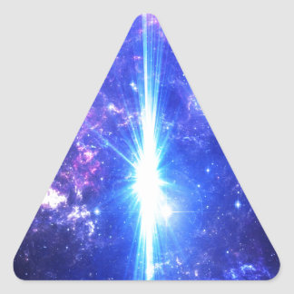 Iridescent Skies Triangle Sticker
