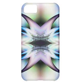 Iridescent Starfish Fractal Design Skins iPhone 5C Cases