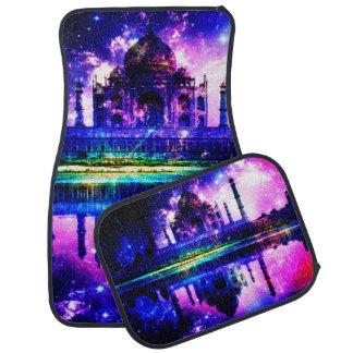 Iridescent Taj Mahal Dreams Car Mat