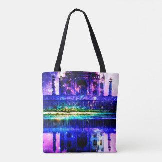 Iridescent Taj Mahal Dreams Tote Bag