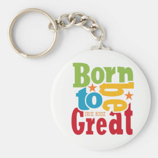 IRIE KIDZ - 'Born to be Great' Keyring