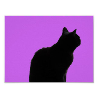 Irina The Cat In Pink Poster