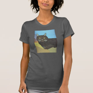 Irina The Cat With The Mountain Backdrop T-Shirt