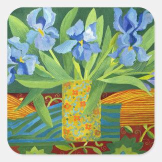 Iris 2014 square sticker