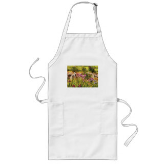 Iris - A Tribute to Monet Long Apron