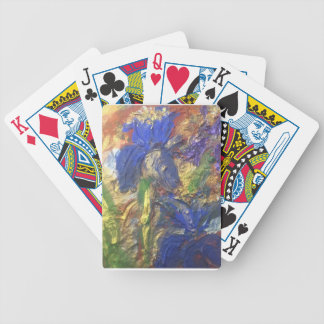 Iris Abstract Bicycle Playing Cards