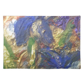 Iris Abstract Placemat