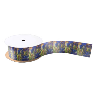 Iris Abstract Satin Ribbon