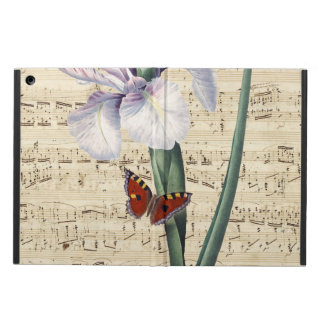 iris and butterfly music cover for iPad air