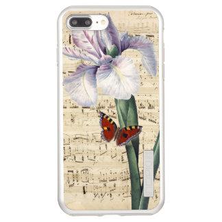 iris and butterfly music incipio DualPro shine iPhone 8 plus/7 plus case