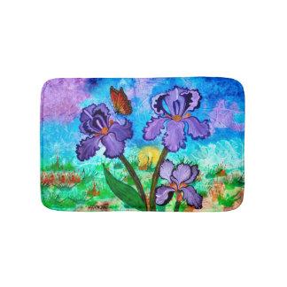 Iris at Sunrise Bathmat