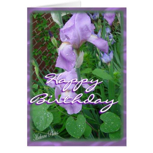 Iris Bday Card-customize
