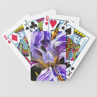 Iris Bicycle Playing Cards
