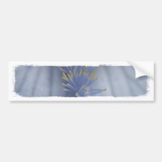 Iris bleu et jaune de BLYE Autocollant De Voiture