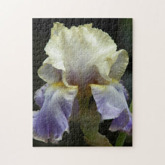 Iris Bloom Floral Jigsaw Puzzle