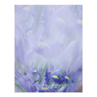 Iris Bouquet Letterhead