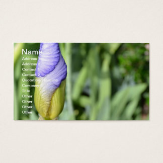 Iris Bud Business Card