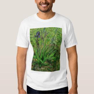 Iris by Vincent van Gogh, Vintage Garden Fine Art T-shirt