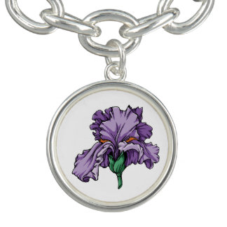 Iris Charm Bracelet