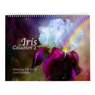 Iris Collection 2 Art Calendar