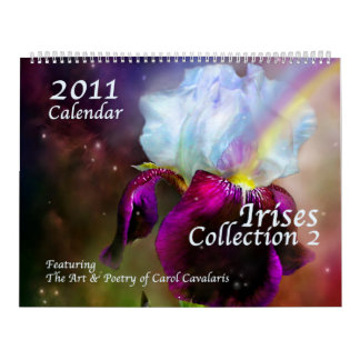 Iris Collection 2 Calendar for 2011
