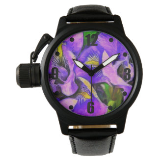 Iris Color Violet Watch