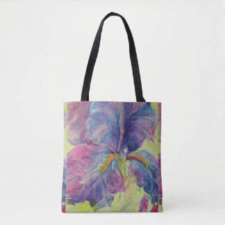Iris Cracked Up Tote Bag