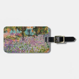 Iris dans le jardin de Monet Étiquettes À Bagages