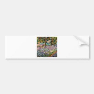 Iris dans le jardin de Monet Adhésifs Pour Voiture