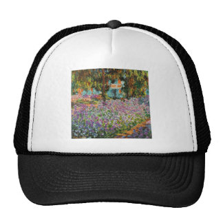 Iris dans le jardin de Monet Casquette De Camionneur