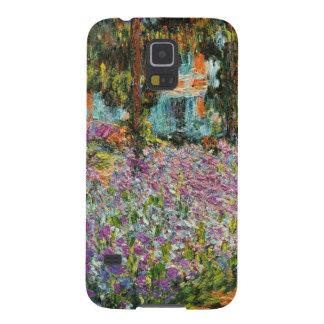 Iris dans le jardin de Monet Coque Pour Samsung Galaxy S5