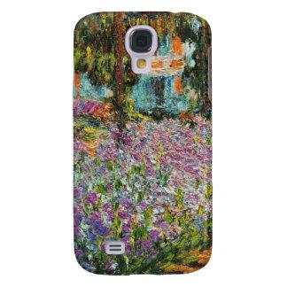 Iris dans le jardin de Monet