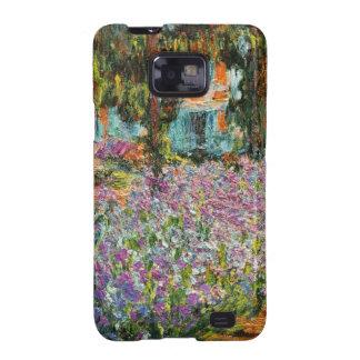 Iris dans le jardin de Monet Coques Galaxy SII