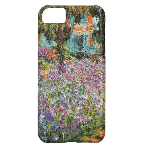 Iris dans le jardin de Monet Coques iPhone 5C