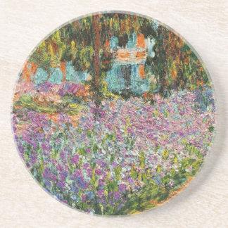 Iris dans le jardin de Monet Dessous De Verre