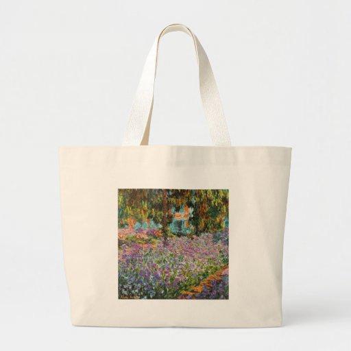 Iris dans le jardin de Monet Sacs